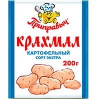 Крахмал картофельный 200гр*25шт Приправыч