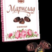 Набор МАРМЕЛАД в ШОКОЛАДЕ 200гр*16шт Рахат набор конфет
