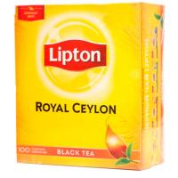 Чай Липтон 100п черный с /яр (12)