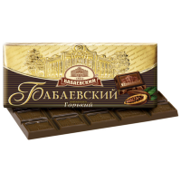 Бабаевский ГОРЬКИЙ 100гр*17шт шоколад Кр.Окт