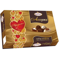 Ассорти СЛАВЯНКА 183гр*7шт набор конфет