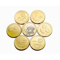 Монеты (Смайлик) 6гр*120шт Шок.монетки