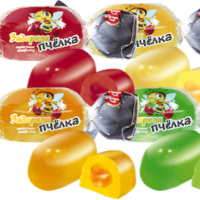 Задорная пчелка МИКС 1кг*8уп Подольск конфеты