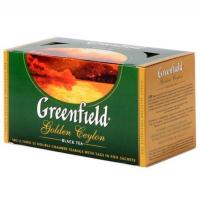 (0352) Чай Гринфилд (Голден цейлон) черный 25п (10)