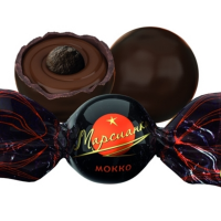 Марсианка МОККО (оранжевая) 1кг*4уп Сл.Орешек конфеты