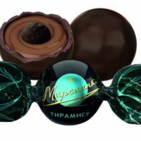 Марсианка ТИРАМИСУ (голубая) 1кг*4уп Сл.Орешек конфеты