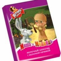 Шоколад Детский Сувенир 20гр*30шт (Маша и Медведь) Славянка