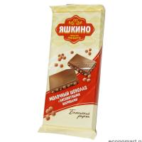 Яшкино 85гр*18шт (бискв.шарики) шоколад (206)