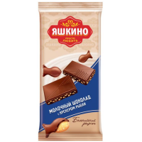 Яшкино 90гр*20шт (молоч.Крекер) шоколад (106)