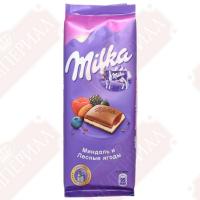 Милка (Двухслойный) (Миндаль-Лесн.яг) 90гр*20шт шоколад ШТУЧНО