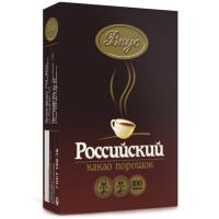 КАКАО Российский 100гр Кофейный напиток (24)