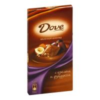 ДАВ (фунд-изюм) 90гр*16шт шоколад ШТУЧНО