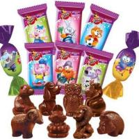 Детский сувенир 1кг*3уп Славянка конфеты