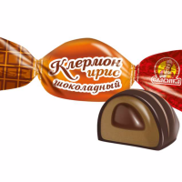 Клермон Шоколадный ирис 1кг6уп Славянка конфеты