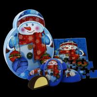 (Атаг) Чудесные Игрушки (СНЕГОВИК) 200гр*16шт набор конфет