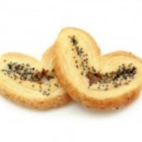 Ушки (Сердечко) 2,3кг МАК Далматово печенье