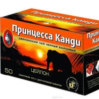 Чай Пр. КАНДИ цейлон 50 пак с/я (18)