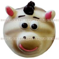 501 ЗЕБРА Зефир 0,6кг Шоколадные Виланки Пенза