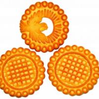 Биосладия (№ 30) 1,5кг печенье сахарное круглое Пенза