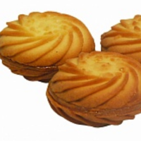 Биосладия (№ 195) 1,5кг Завиток (сгущ) печенье сдобное