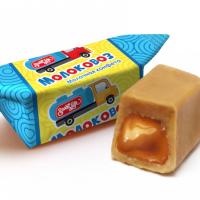 МОЛОКОВОЗ 1кг*4уп Свитлайф конфеты