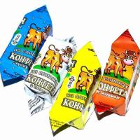 ВОЛЬСКИЙ 5кг Коровка Ассорти (Молочная) конфеты