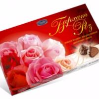 Бархат роз 200гр*16шт Новосибирск набор конфет