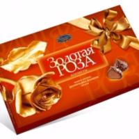 Золотая роза 200гр*16шт Новосибирск набор конфет