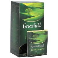 (0358) Чай Гринфилд (Драгон) зеленый 25п (10)