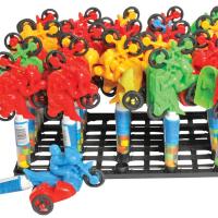 Канди Клаб (Мотоцикл) 2гр*30шт Драже в тубе с игрушкой