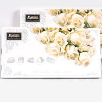 (большая) Кремовые розы 250гр*10шт Леванта-Москва набор конфет