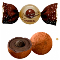 Марсианка ТРЮФЕЛЬ (бежевый) 1кг*4уп конфеты НОВИНКА