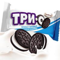 ТриО (пломбир) 3кг Акконд конфеты-печенье