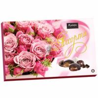 Для Вас 190гр*15шт (Розовые Розы) Кутюрье набор конфет