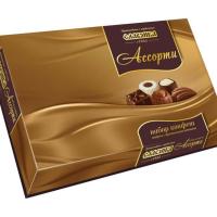Ассорти СЛАВЯНКА (Золото) 369гр*6шт набор конфет