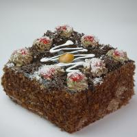 (38) Торт Шоколадный с Вишней 1кг (2шт) Насиров
