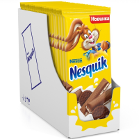 Несквик 95гр*20шт (печенье) шоколад ШТУЧНО