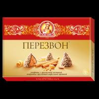 Перезвон 220гр*6шт (Ваф.крошка) Сладко набор конфет (Красные)
