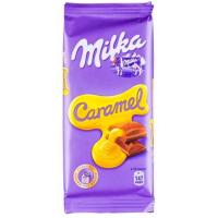 Милка (Карамель) 90гр*20шт шоколад ШТУЧНО