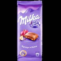 Милка (Фундук-изюм) 90гр*20шт шоколад ШТУЧНО
