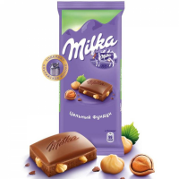 Милка (Цельный Фундук) 90гр*19шт шоколад ШТУЧНО