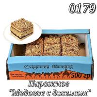 Экран-мини (0179) МЕДОВОЕ Джем 0,5кг Насиров пирожное