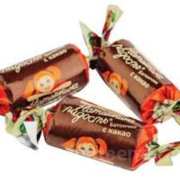 Бат Наташкина радость 1кг*3уп (с какао) Тамбов конфеты