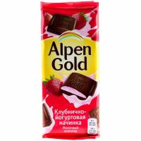 Альпен Голд 85гр*21шт (Клубника-Йогурт)