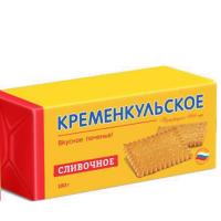 Фас Кременкульское (Сливочное) 180гр*28шт печенье фасовка