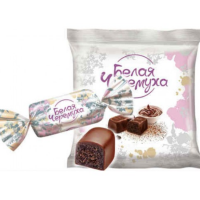 Белая Черемуха 0,5кг*10уп Томск конфеты (цена за упак)