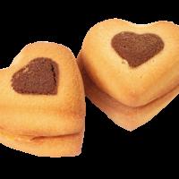Сердца двух 1,5кг Коркино печенье