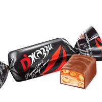 Джази ЧЕРНАЯ с арахисом 0,5кг*10уп Н-Тагил конфеты