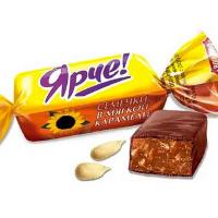 Ярче Семечки 0,5кг*10уп Н-Тагил конфеты