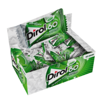 Жвачка ДИРОЛ 2гр*100шт (Мята 60 мин свежести)